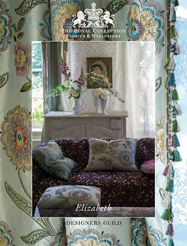 DESIGNERS GUILD ROYAL COLLECTION ELIZABETH