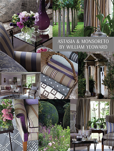 DESIGNERS GUILD ASTASIA AND MONSORETO BY WILLIAM YEOWARD
