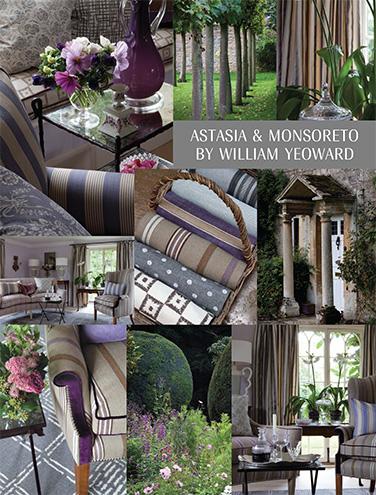 DESIGNERS GUILD ASTASIA AND MONSORETO BY WILLIAM YEOWARD