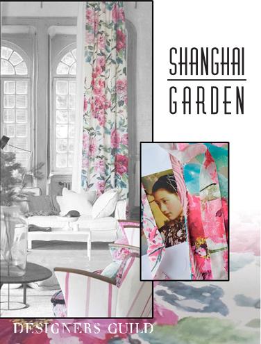 SHANGHAI GARDEN - DESIGNERS GUILD 2015