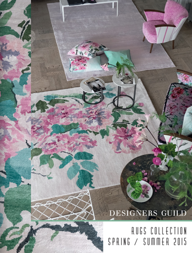 DESIGNERS GUILD RUGS COLLECTION SPRING/SUMMER 2015