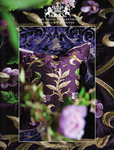 DESIGNERS GUILD THE ROYAL COLLECTION ST JAMES