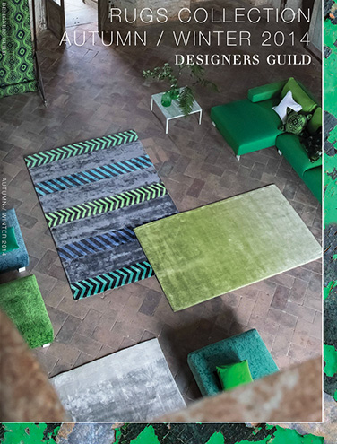 DESIGNERS GUILD RUGS COLLECTION AUTUMN WINTER 2014