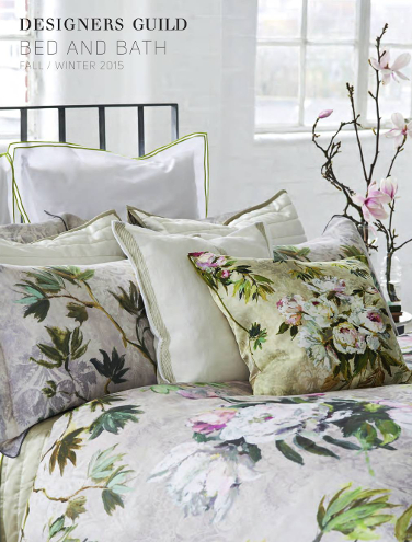 DESIGNERS GUILD BED AND BATH AUTUMN/WINTER 2015
