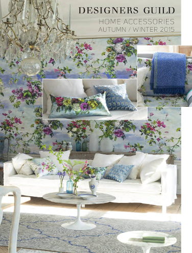 DESIGNERS GUILD HOME ACCESSORIES AUTUMN/WINTER 2015