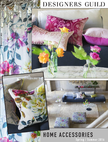 DESIGNERS GUILD HOME ACCESSORIES SPRING/SUMMER 2015