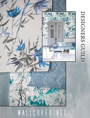DESIGNERS GUILD SHANGHAI GARDEN WALLCOVERINGS SPRING/SUMMER 2015