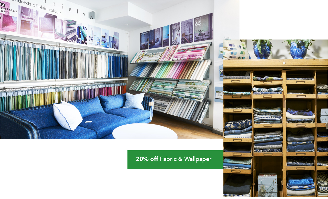 Fabric and Wallpaper offers