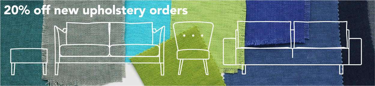 20% off new upholstery orders