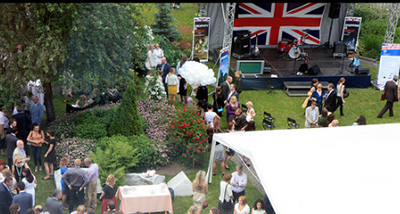 Russian event pride of Britain