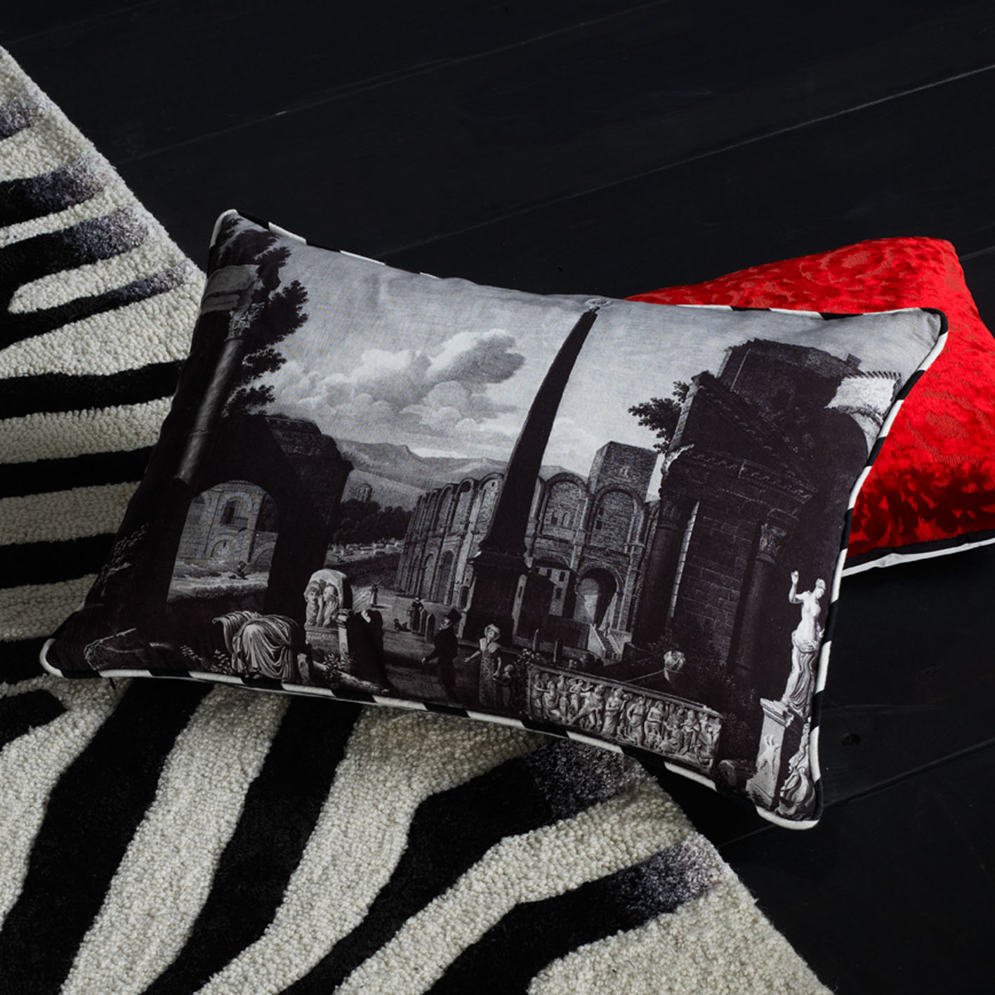 Forum Cushion by Christian Lacroix