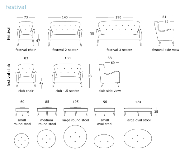 Furniture Line Drawings Our Furniture Can be
