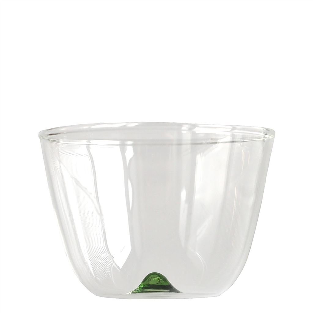 Bambus Party - Wine Glass - Green