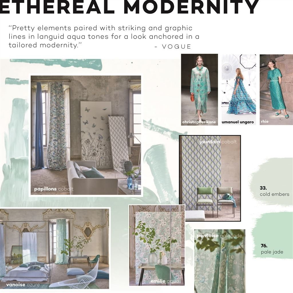 Trend: Ethereal modernity