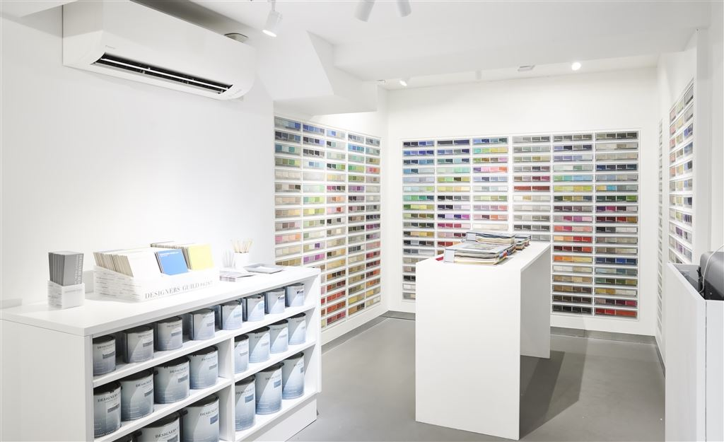 Design Focus: Paint lab & Wallpaper studio