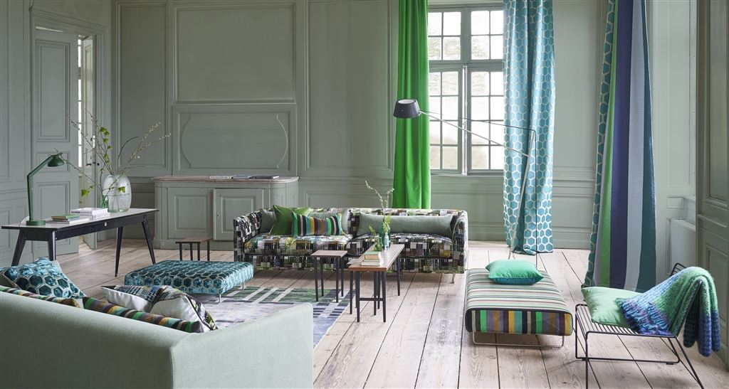 Luxury Fabrics | Linen, Velvet, Patterns, Plain | Designers Guild