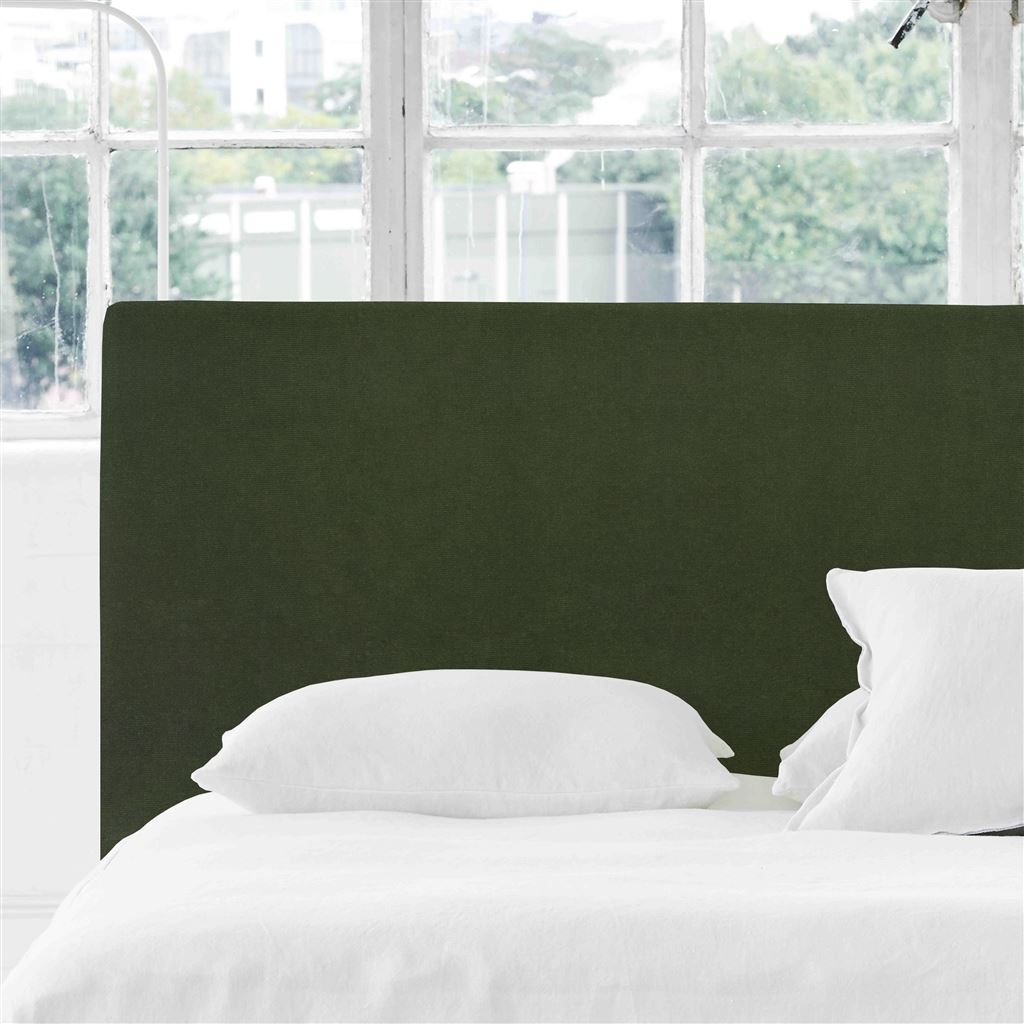 Square Double Headboard - Cassia Fern - H106 x W147cm