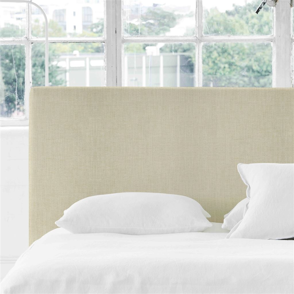 Square Double Headboard - Elrick Natural - H106 x W147cm