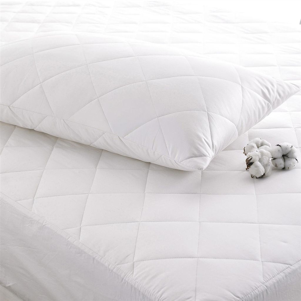 DEEP FILLED COTTON STANDARD PILLOW PROTECTOR