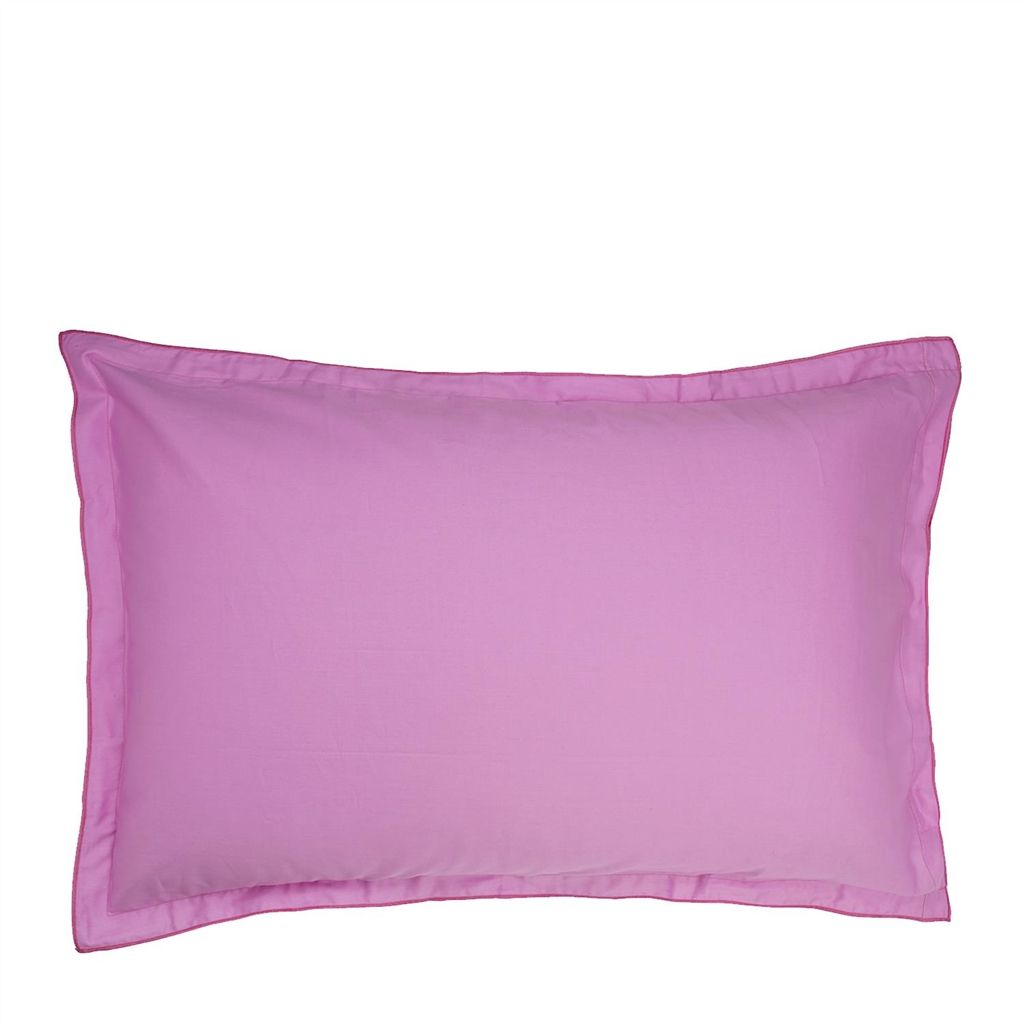 SARAILLE MAGENTA OXFORD PILLOWCASE 75X50CM
