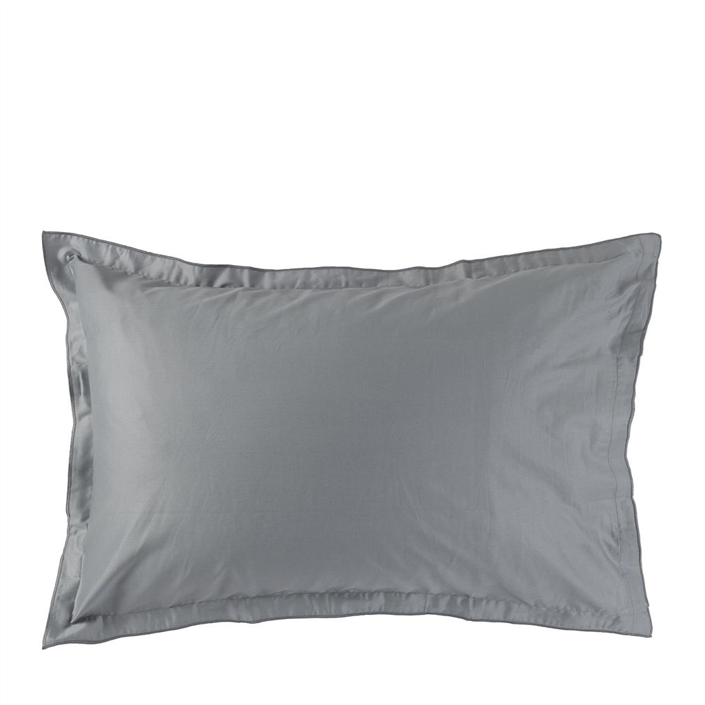 SARAILLE NOIR OXFORD PILLOWCASE 75X50CM