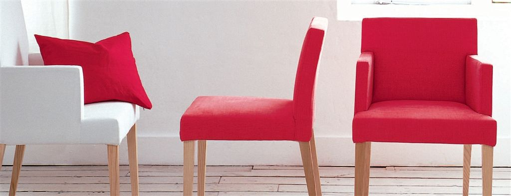 Newport Low Back Chair with No Arms | Designers Guild