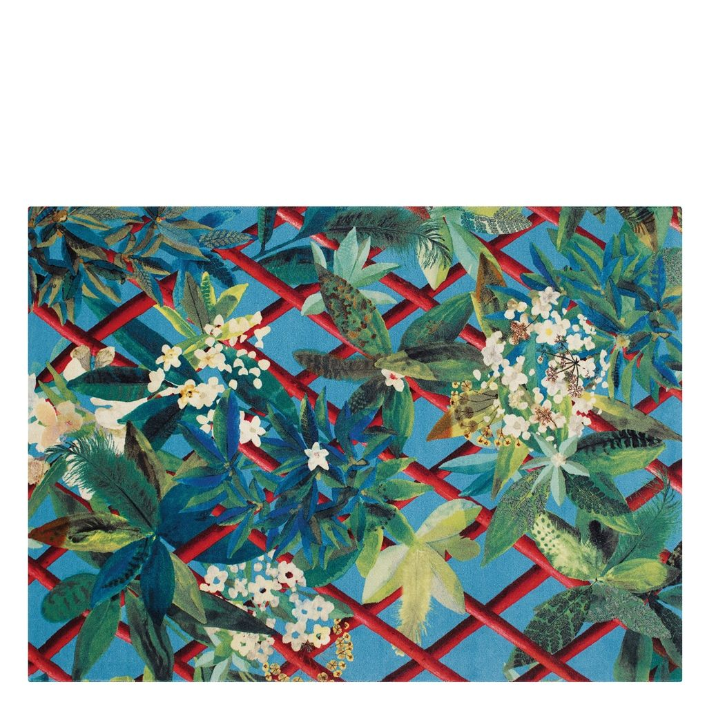 CANOPY TURQUOISE STANDARD RUG 170X230 CM