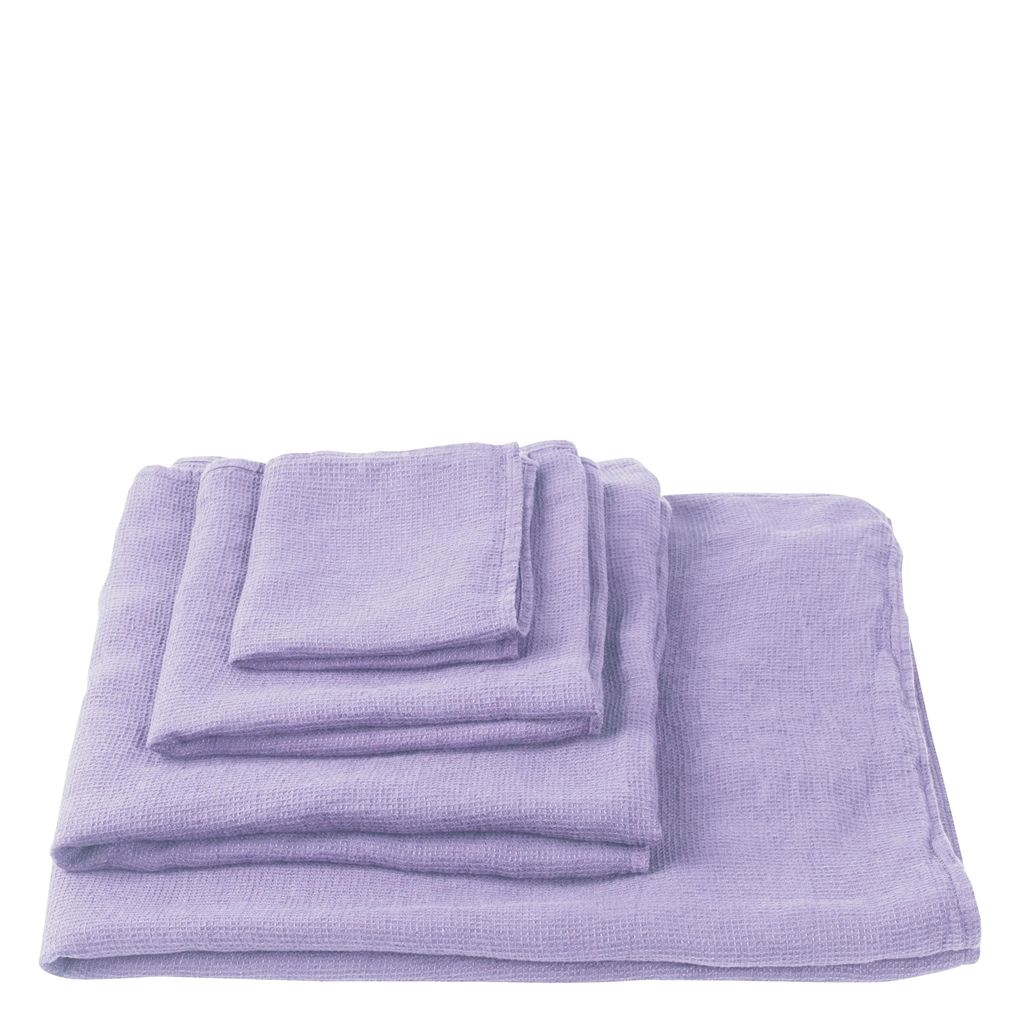 UK ORCIA LILAC HAND TOWEL 50X100 CM