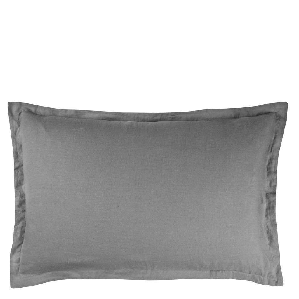 RETAIL BIELLA PALE GREY/DOVE SMALL PILLOWCASE 30X40 CM