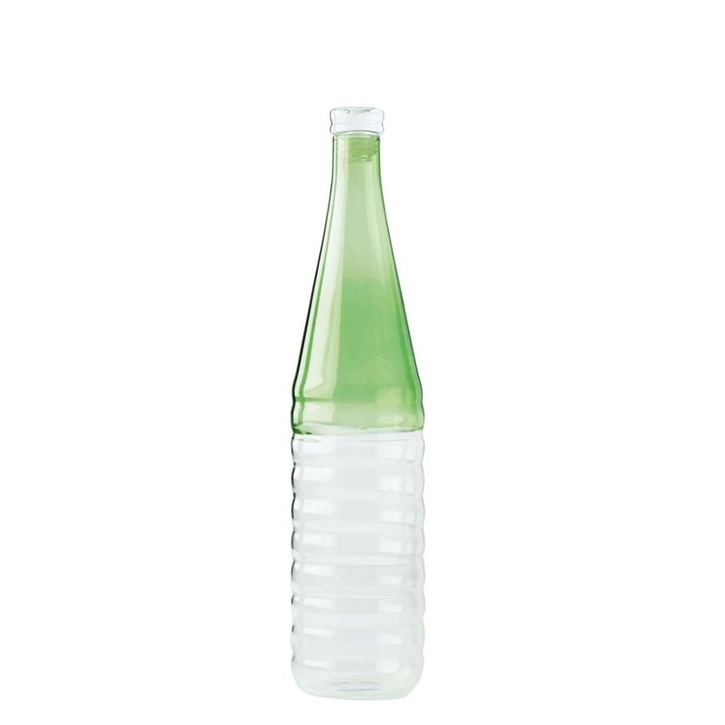 BOTTLE GREEN / CLEAR SMALL ECOM