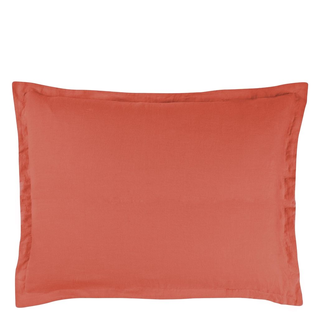 BIELLA  TANGERINE  RECTANGULAR  BREAKFAST PILLOWCASE 30X40CM