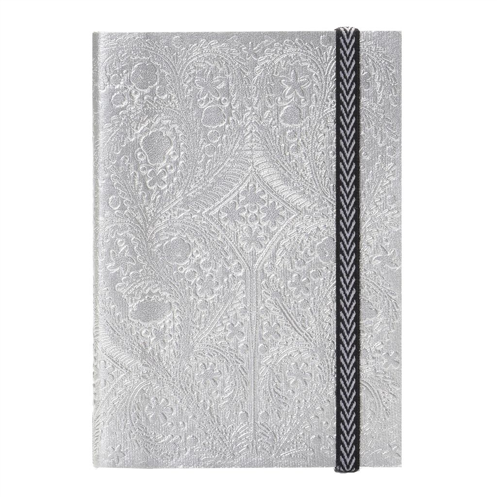 Christian Lacroix Paseo Silver A6 Notebook 14.8x10.5x0.5cm