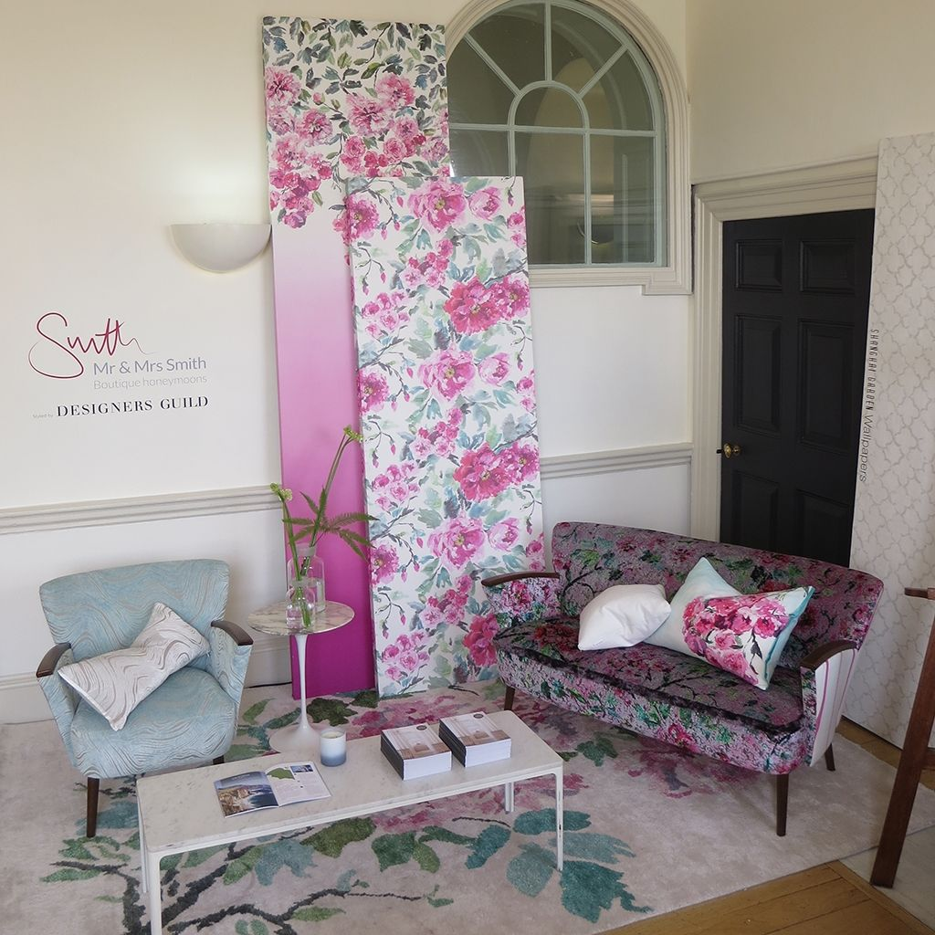Designers Guild and Mr and Mrs Smith at the Quintessentially Wedding A