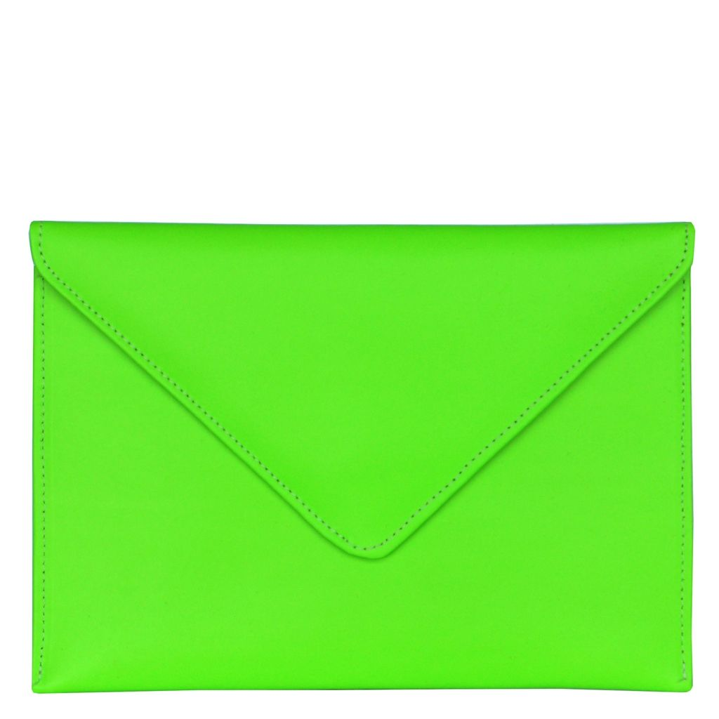 MINI FLUORO GREEN IPAD COVER