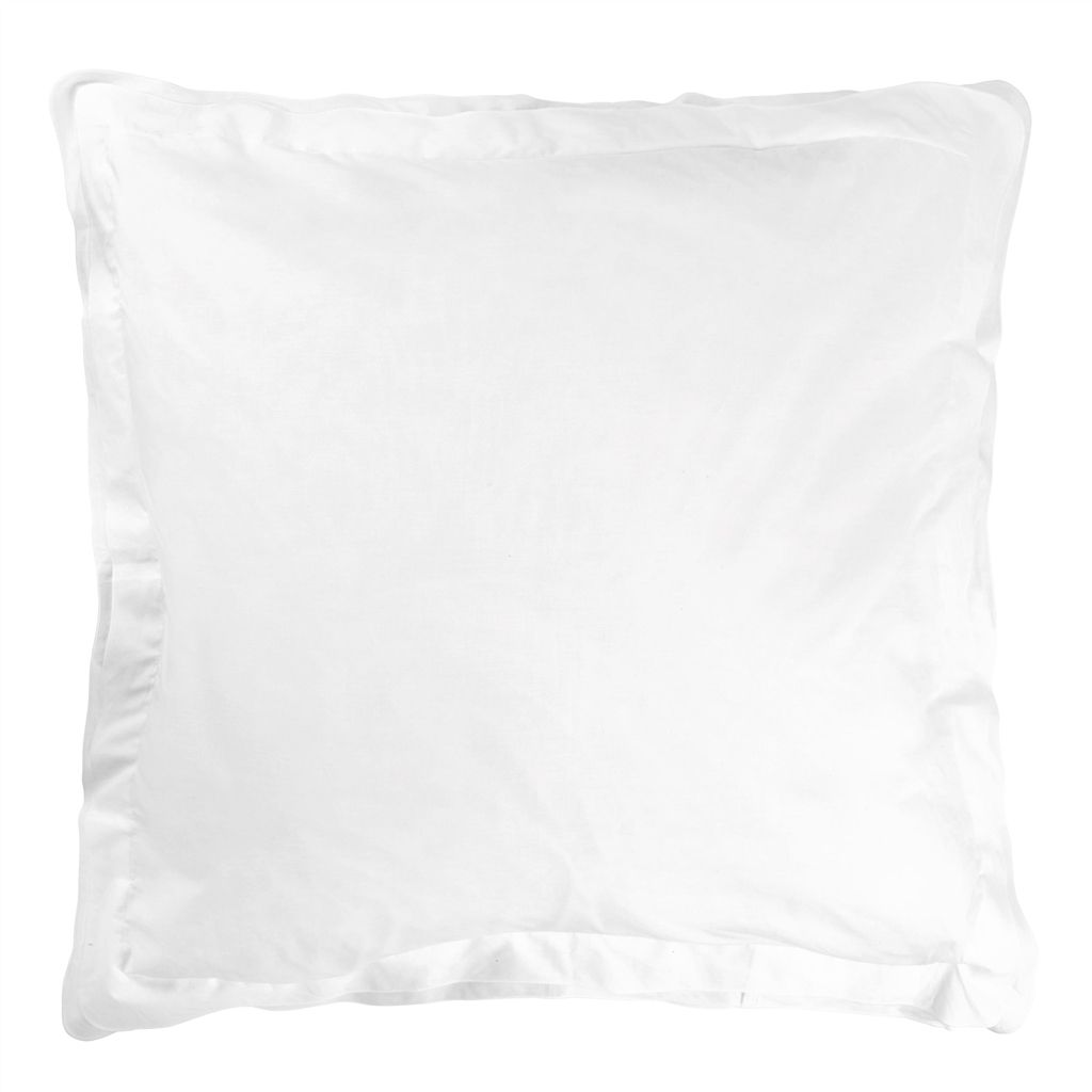 PELHAM  ALABASTER  EUROPEAN  PILLOWCASE  65X65CM
