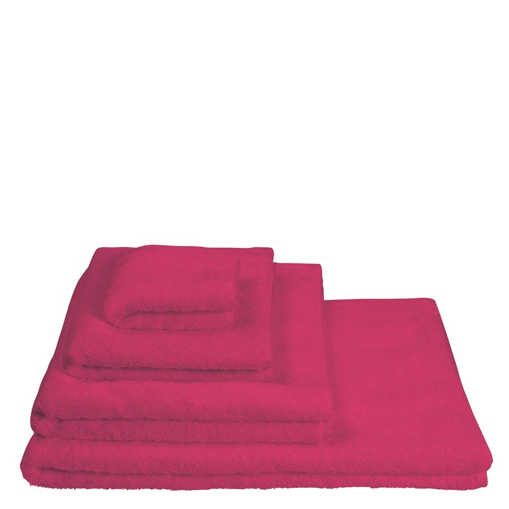 Nibthwaite - Fuchsia - Face Cloth - 30X50CM