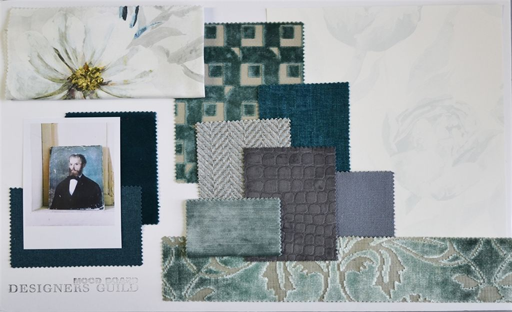 Moodboard: Winter teal