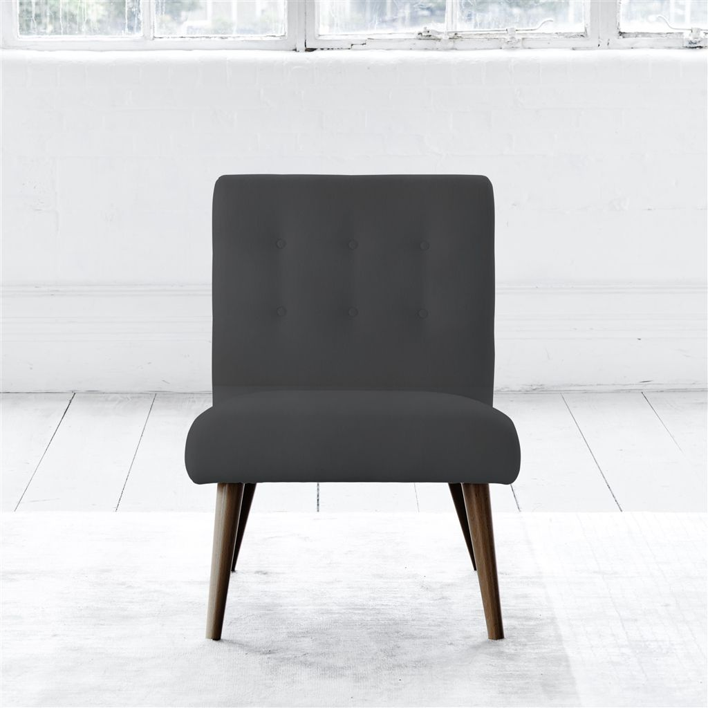 EVA CHAIR - SELF BUTTONS - WALNUT LEG - CASSIA GRANITE