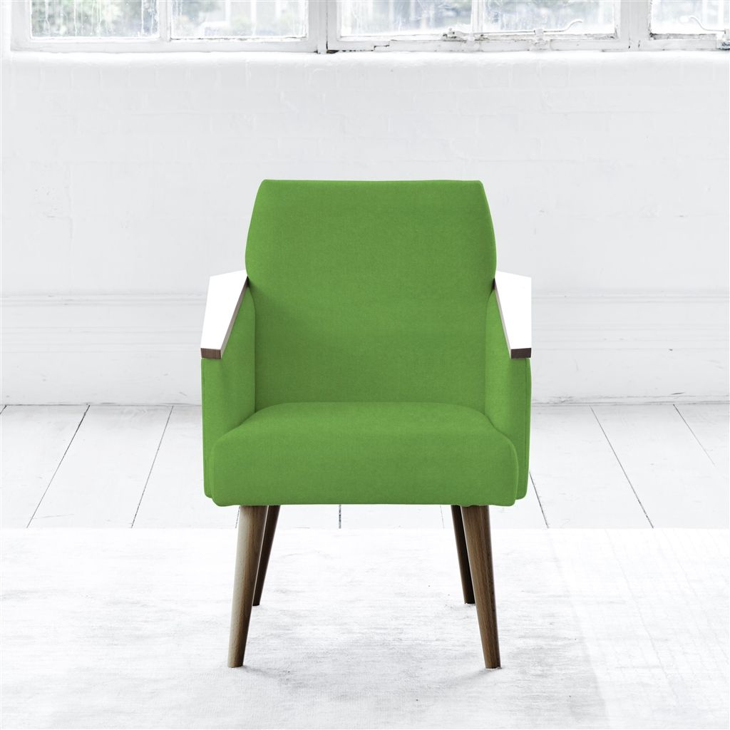 RAY CHAIR - WALNUT LEG - CASSIA GRASS