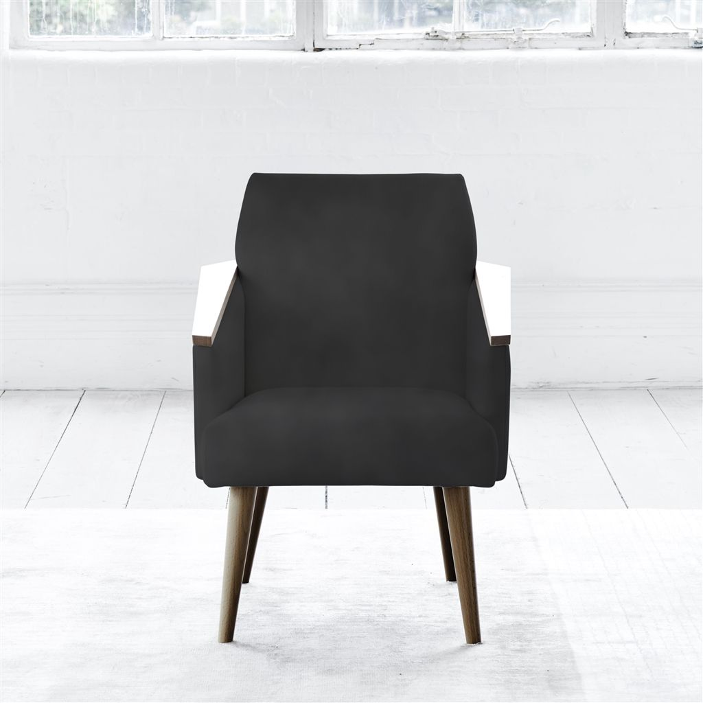 RAY CHAIR - WALNUT LEG - CASSIA SLATE