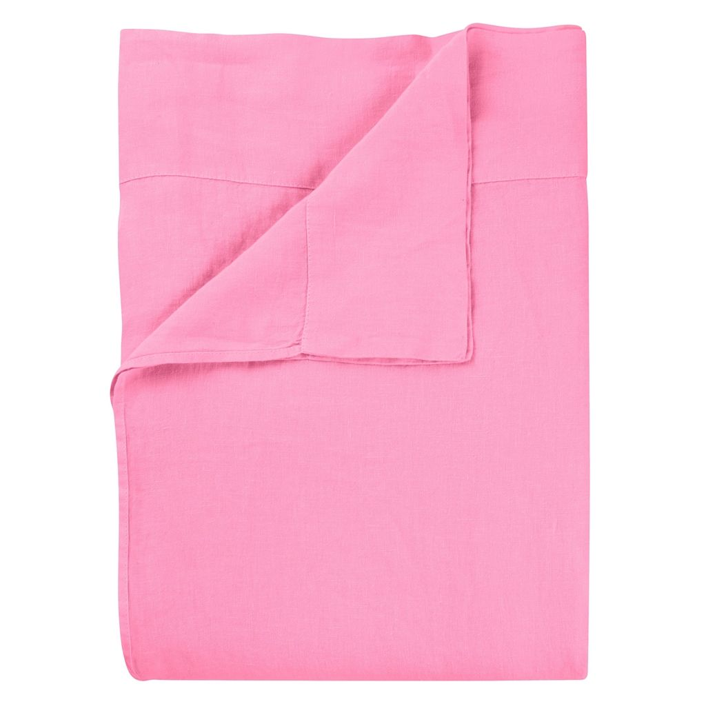 BIELLA - PEONY / CAMELLIA - DOUBLE - FITTED SHEET - 135X190CM