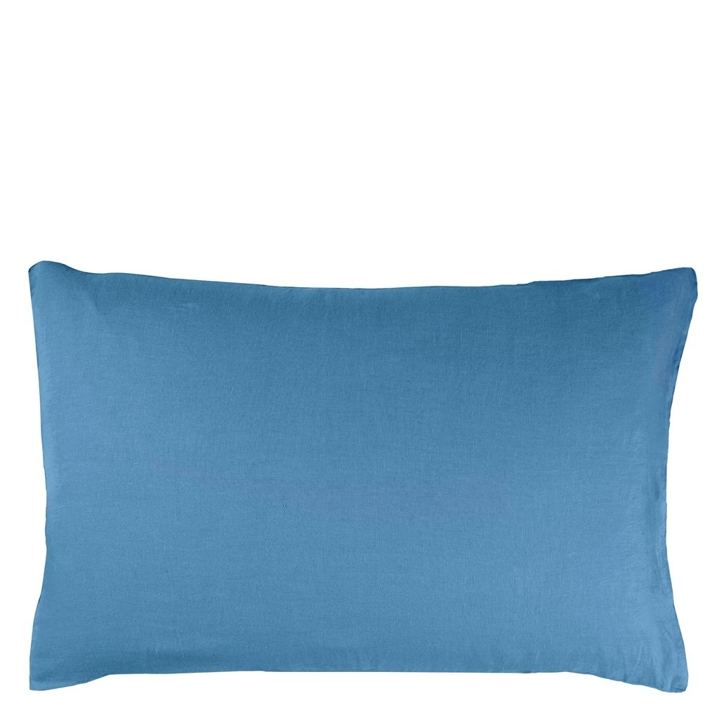 RETAIL BIELLA DUSKY BLUE/CLOUD SMALL PILLOWCASE 30X40 CM