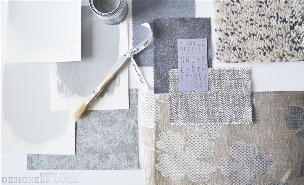 Moodboard: Cool grey & white