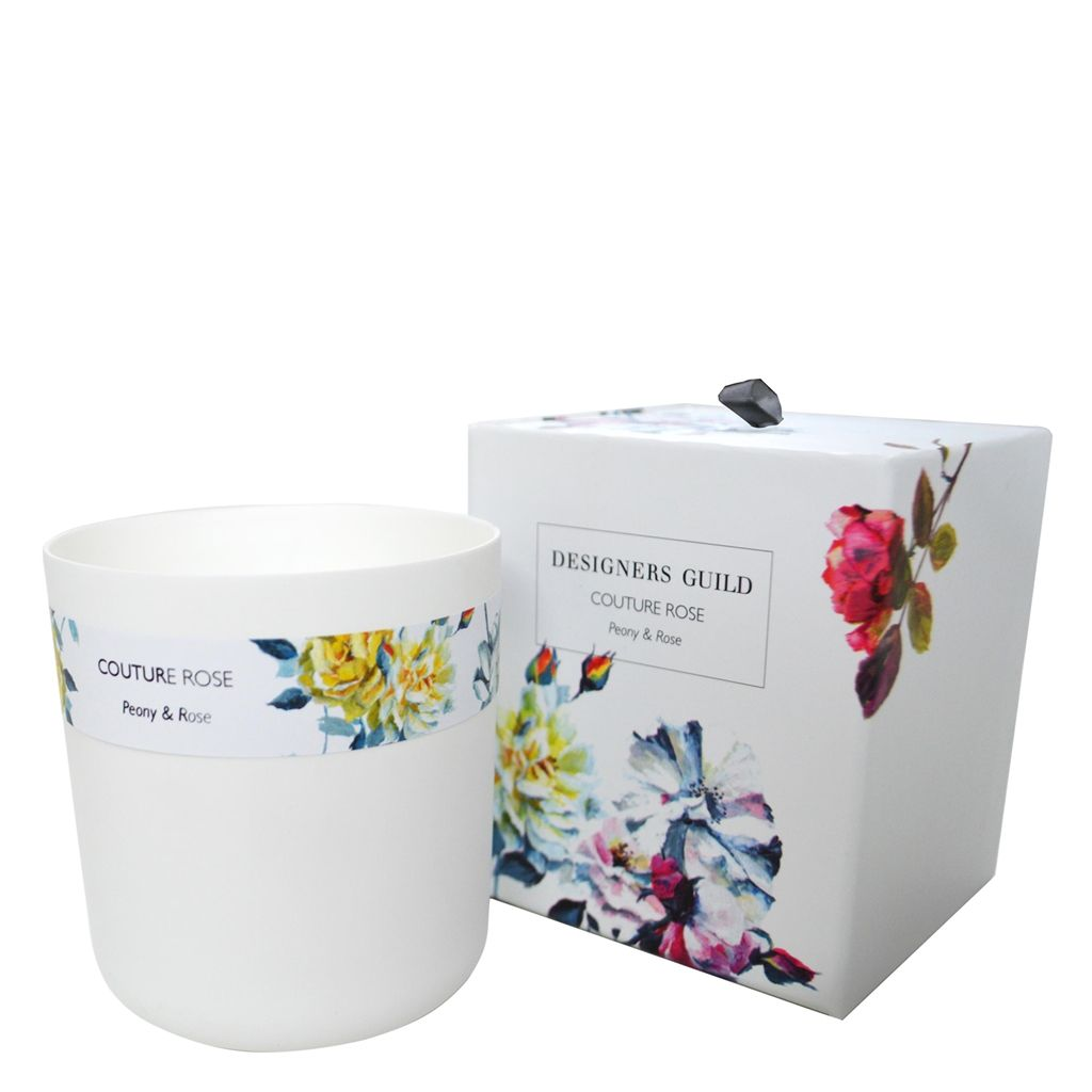 Couture Rose Peony and Rose Candle