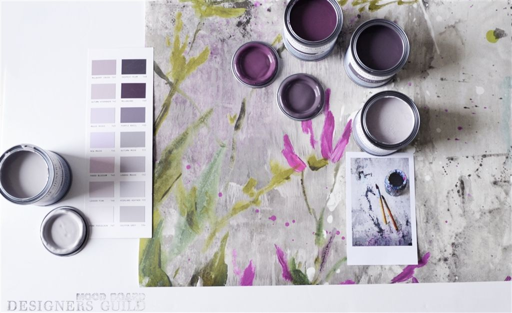 The paint edit: Purple amethyst