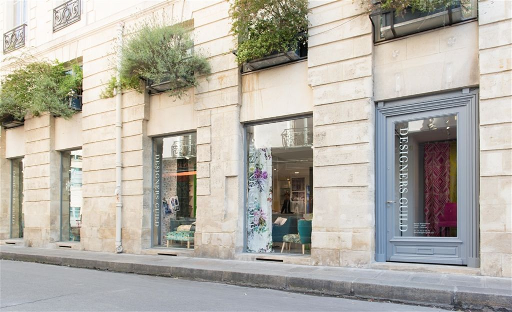 Designers Guild Paris showroom