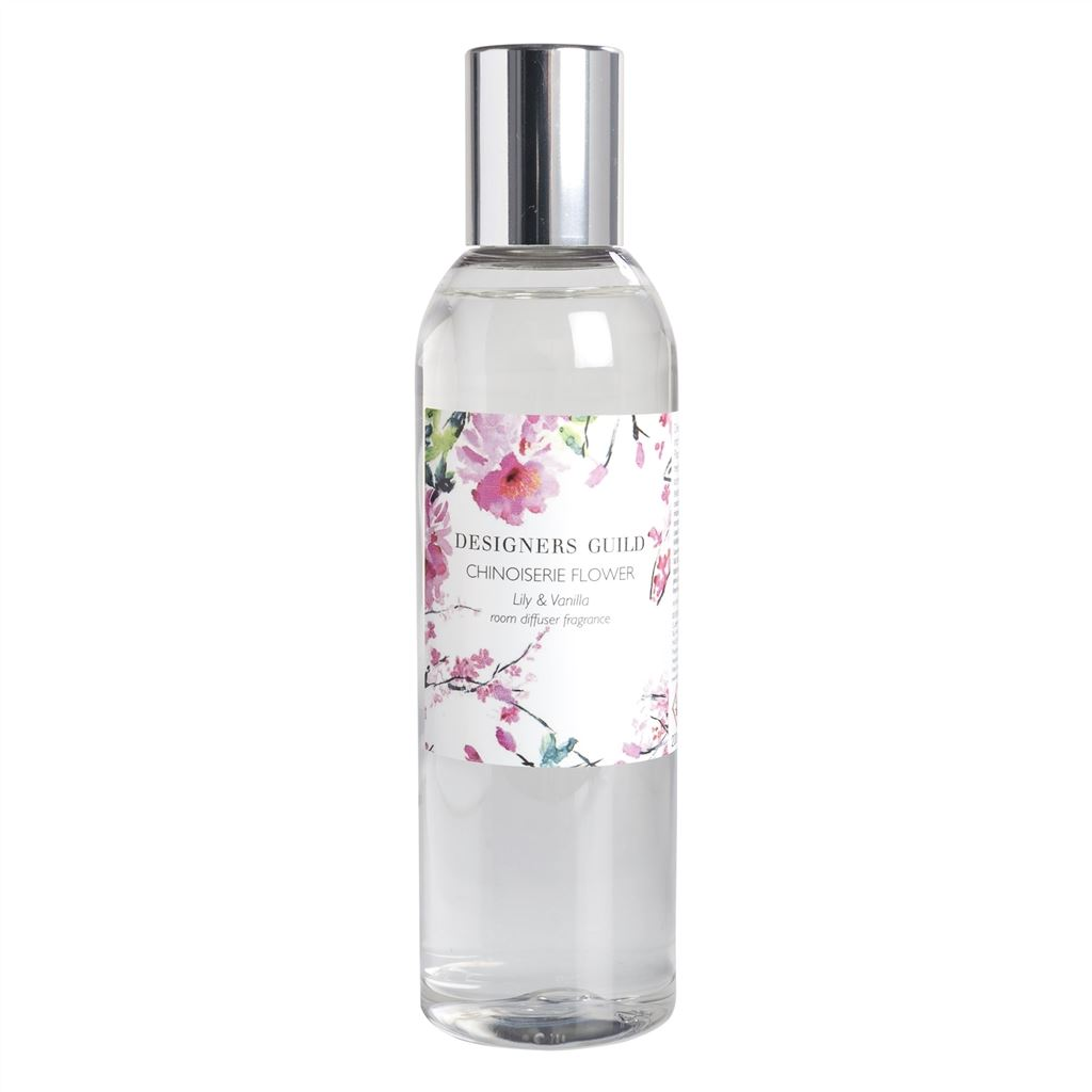 Chinoiserie Flower Lily and Vanilla Diffuser Refill
