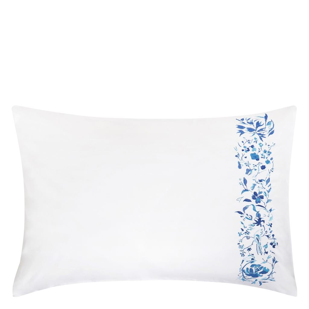 MAJOLICA CORNFLOWER STANDARD PILLOWCASE 75X50CM