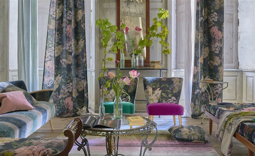 Interior Design Fabrics new fabric collections | designers guild