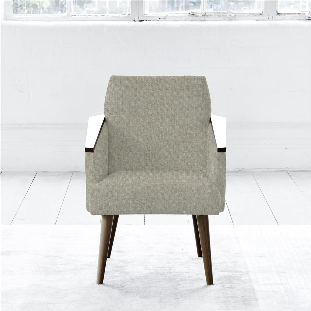 RAY CHAIR - WALNUT LEG - BRERA LINO PEBBLE